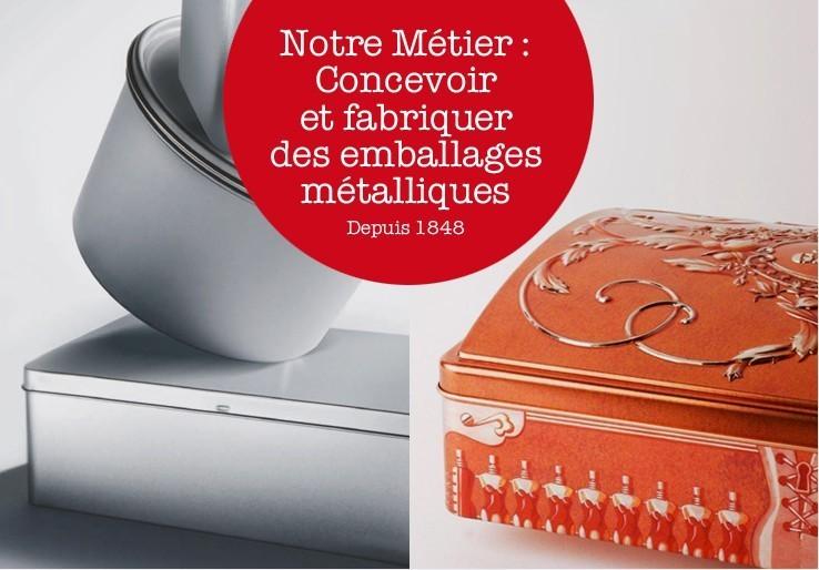 Desjardins - metal packaging