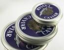 Printed vacuum caviar tin