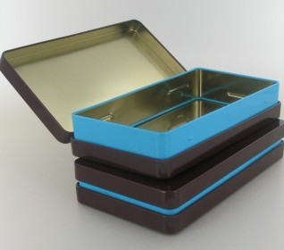 Rectangular tins