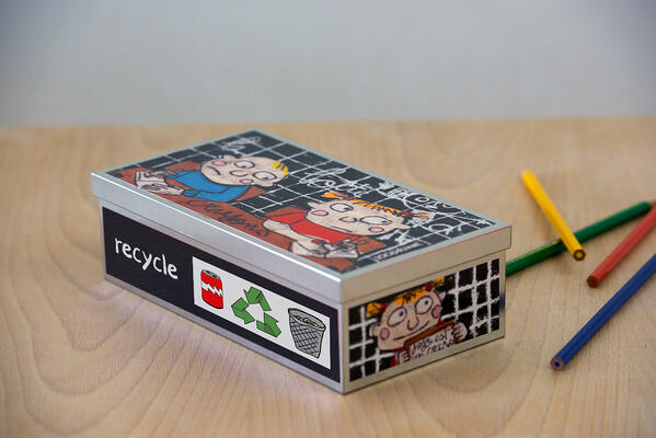 Recycle-packaging-box