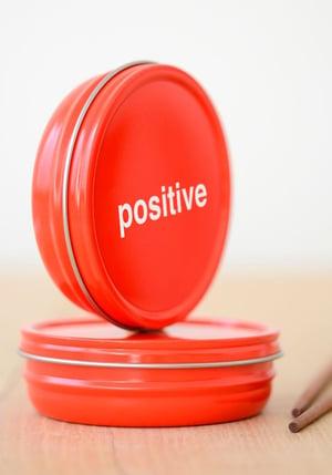 positive impression of tins