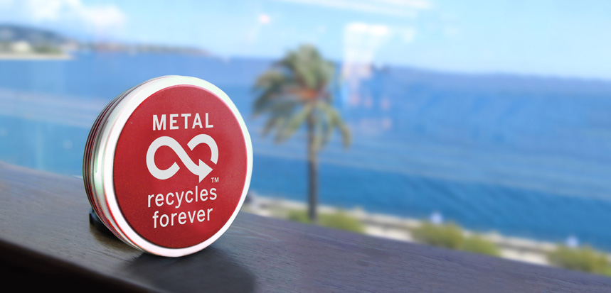 Metal recycles forever