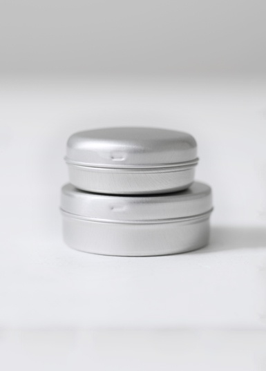 Round tin Click fit