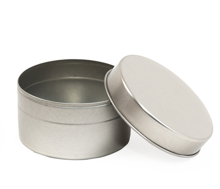 Round Slip lid tin
